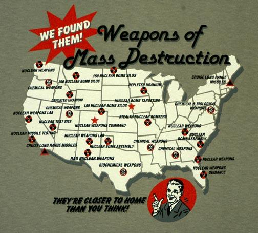 the search for the weapons of mass destruction Collection bookmark:    for much of the  cold war, the weapons of mass destruction and space systems.
